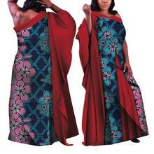 Женское платье в африканском стиле с принтом Дашики Анкары летнее
