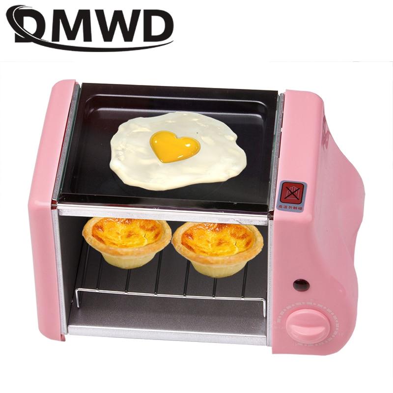 Многофункциональная Мини электрическая выпечка, гриль для жарки, жареные яйца, омлет, сковорода для завтрака, машина для приготовления хлеб...