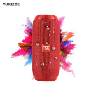Portable Speaker Wireless Bluetooth Speakers TG117 Soundbar Outdoor Sports Waterproof Support TF Card FM Radio Aux Input(China)