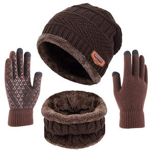 SGloves Set Hat Scarf...