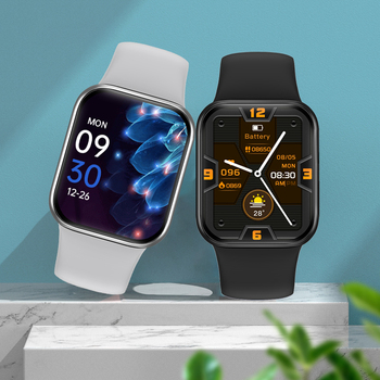 """Smart Watch For Men 1.57"""" Fitness Tracker Full Touch Bluetooth SmartWatch Women Heart Rate Monitor Clock Watches For iOS Android 2"""