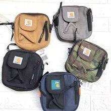 Straddle saco de cor sólida carhartt-esportes casual bolsa de ombro mensageiro para homem e mulher satchels