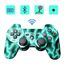 Mutil-colored wireless bluetooth gamepad for ps3 Pro controller Gamepad Dualshock Joystick for Plastation3 Consoles(China)
