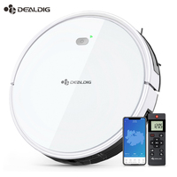 DEALDIG Robvacuum 8 1800 Pa Robot Vacuum Cleaner Aspirator path planning For Alexa App Remote Control Automatically Recharge