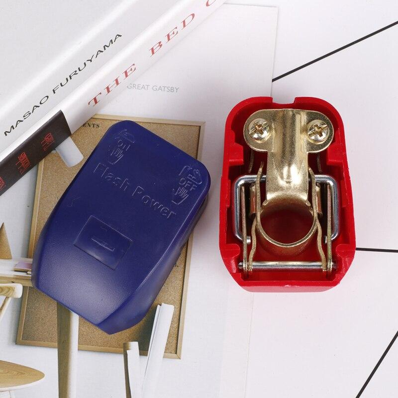 Универсальный автомобильный клеммный разъем для аккумулятора 2 шт. быстроразъемные зажимы клемм для аккумулятора тумблер запчасти для гру...