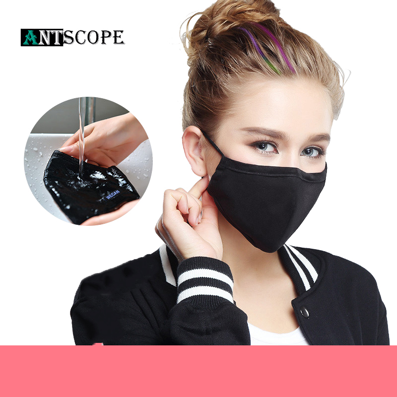 Antscope Respiratory PM2.5 5Colors Woman Outdoor Sports Anti Dust Fog And Haze UV Protection Mask Windproof Bicycle Mouth-Muffle