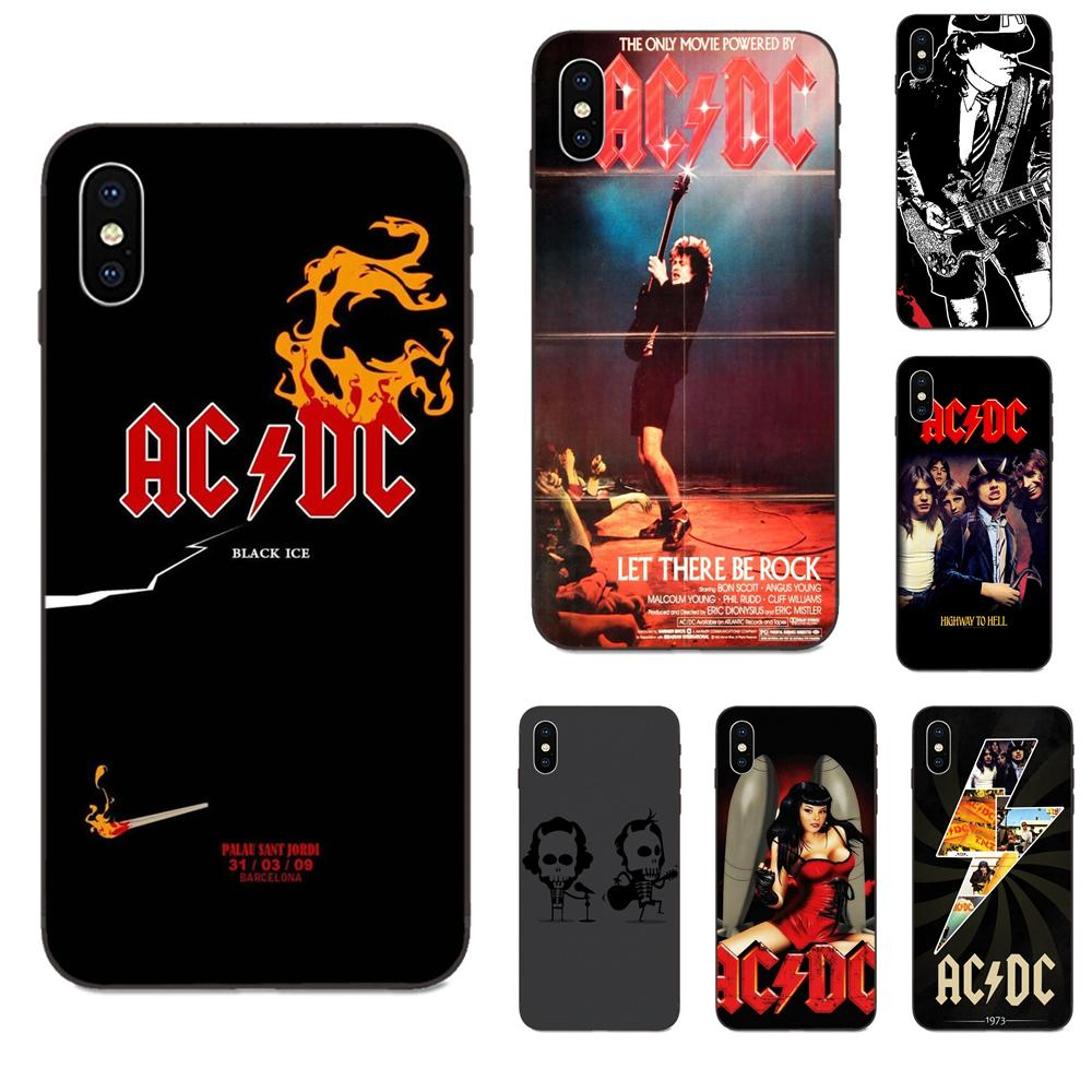 <font><b>Ac</b></font> <font><b>Dc</b></font> Acdc Poster Music For Xiaomi Redmi Note 3 3S 4 4A 4X <font><b>5</b></font> <font><b>5A</b></font> 6 6A 7 7A K20 Plus Pro S2 Y2 Y3 Soft Covers image