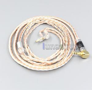 Image 1 - LN006703 2.5mm 4.4mm XLR 16 çekirdek gümüş kaplama OCC karışık kulaklık kablosu Sony MDR EX1000 MDR EX600 MDR EX800 MDR 7550