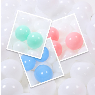 Eco-Friendly Ball Super Transparent Elastic PE Wave Ball for Children Outdoor Fun Balls Universal Sports Toy