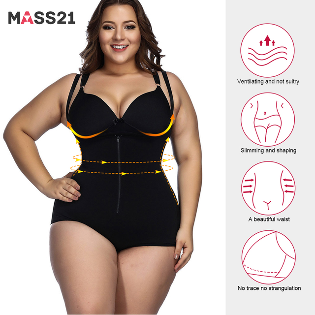 2020 New Arrival Bodysuits Sexy Shapewear Waist Trainer Butt Lifter Slim Shaper Invisible Bodysuit with Straps Firm Control Body 1