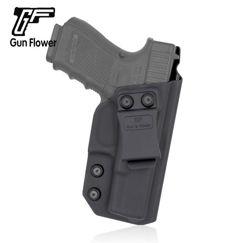 Arma de Saque Bolsa para Glock Gunflower Acessório Tático Kydex Clipe Coldre Rápido 19 – 23 32