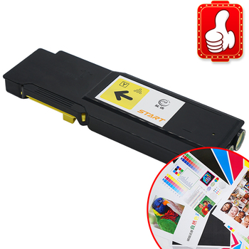 START compatible fo laser Printer Toner for Xerox 106R03525 Extra High Yield Toner Cartridge - Yellow