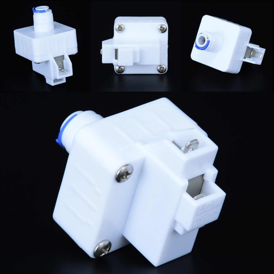 1 sztuk PPS filtr do wody niski przełącznik ciśnieniowy przenośny 1/4 ''biały + niebieski szybki kontakt Home Improvement przełączniki