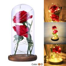 Beauty And The Beast Rose Kit Rose And LED Light I