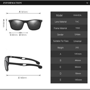 Image 3 - Ультралегкие поляризационные солнцезащитные очки VIAHDA TR90 для мужчин и женщин, мужские солнцезащитные очки для вождения, спортивные очки для рыбалки, очки