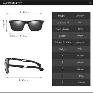 Image 3 - VIAHDA Ultralight TR90 Occhiali Da Sole Polarizzati Donne Degli Uomini di Guida Maschio Occhiali Da Sole di Pesca di Stile di Sport Occhiali Oculos Gafas