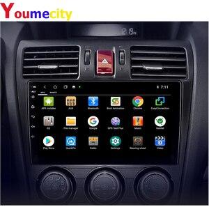 Image 4 - אנדרואיד 9.0 מולטימדיה לרכב עבור סובארו פורסטר אימפרזה WRX 2013 2014 2015 רדיו Rds Gps DVD וידאו IPS BT USB שמונה ליבה