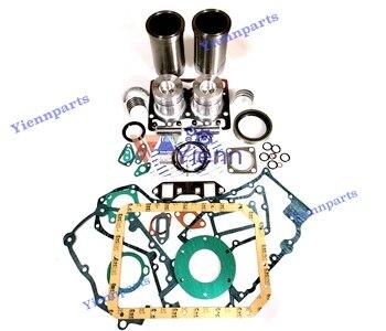 For KOMATSU 2D94 2D94-2RC Rubuild Kit 6142-62-1400 Fit WA30-1 Loader PC02-1 PC04-1 Mini Excavator 2D94-2RR Engine Spare