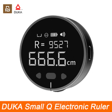 XIAOMI DUKA Electronic Ruler Rechargeable 8 Functions Rangefinder Portable HD LCD Screen Long Standby Digital Display Ruler
