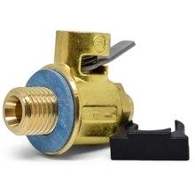 F108S s-серия короткий ниппельный клапан слива масла с рычажным зажимом 16 мм-1,5