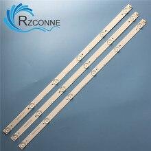 """LED תאורה אחורית רצועת 6 מנורת עבור Sanyo 32 """"טלוויזיה LED 32B500 32CE650 4C LB320T HQ2 32RTB32M06A0 LED32C371 6V/LED"""