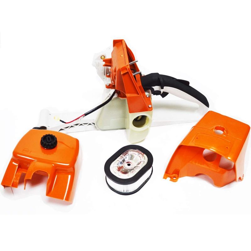 Fuel Gas Tank Rear Handle Air Filter Cover Shroud For Stihl 066 MS660 MS650 065