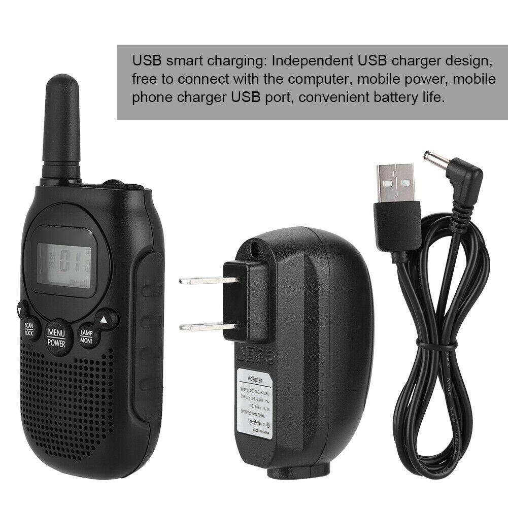 Оригинальная мини-рация Baofeng BF T6, 22CH, 0,5 Вт, детская портативная рация Comunicador, приемопередатчик, рация, радиоприемник, радио, радио, для детей, д...