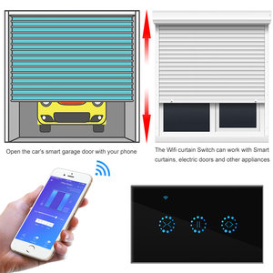 Image 5 - WiFi Smart Switch Electrical Blinds Touch Curtain Switch eWeLink APP Voice Control For Mechanical Limit Blinds Roller Shutter