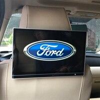 12.5 Polegada carro 1920x1080 4 k 1080 p hd srceen android 7.1 monitor de encosto de cabeça com hdmi para o sistema de entretenimento do assento traseiro da borda de ford