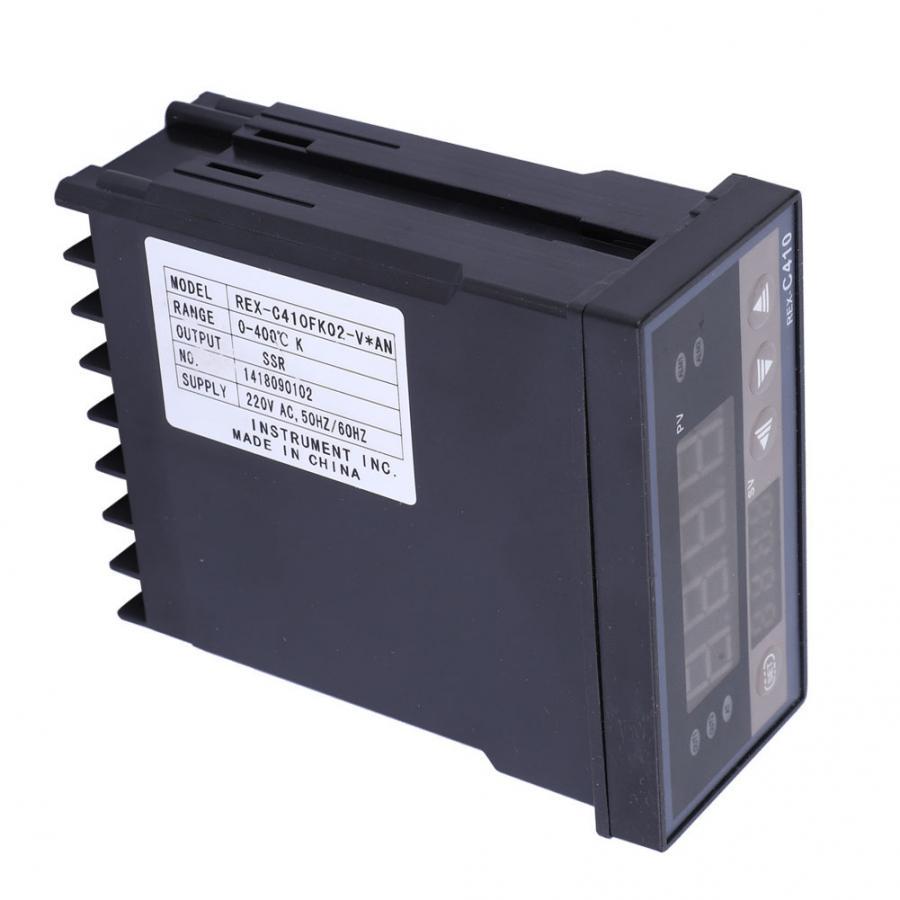 Ac220v controlador de temperatura ajustável ssrsaída controle