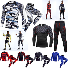 Sport-Suit Training-Clothing Motorcycle Men Tights Gym Fitness Quick-Dry Man's-Compression