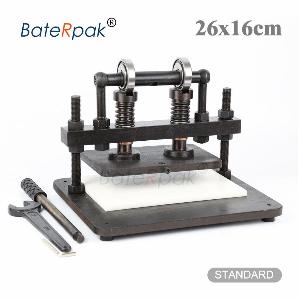 26x16cm Doppel Rad Hand leder schneiden maschine, BateRpak foto papier, PVC/EVA blatt mold cutter, leder stanzen maschine