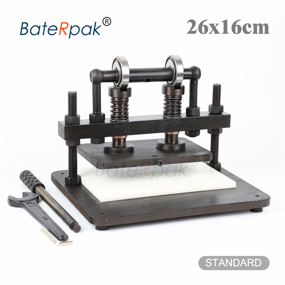 26x16cm Double Wheel Hand leather cutting machine,BateRpak photo paper,PVC/EVA sheet mold cutter,leather Die cutting machinemachine cuttingmachine machinemachine die cutting -