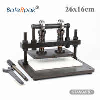 26x16cm Double Wheel Hand leather cutting machine,BateRpak photo paper,PVC/EVA sheet mold cutter,leather Die cutting machine