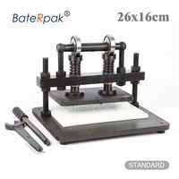 26x16cm Double Wheel Hand leather cutting machine,BateRpak photo paper,PVC/EVA sheet mold cutter,leather Die cutting machine