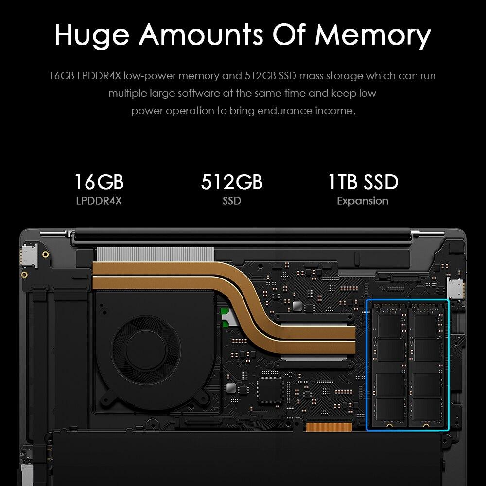 CHUWI original GemiBook Pro 14inch windows 10 Laptop Intel Gemini lake J4125 Quad Core 16GB RAM 512GB SSD With backlit keyboard-3