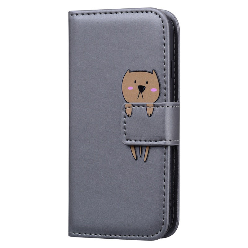 3D Cartoon Animal Flip Case For Huawei P30 P40 Lite Pro P Smart 2019 Honor 10 Lite 8X 9Lite PU Leather Wallet Cover P40pro Cases