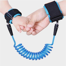Rope Anti-Lost Harness Wristband Baby-Walker Children Leash Kids Safety Traction Elastic
