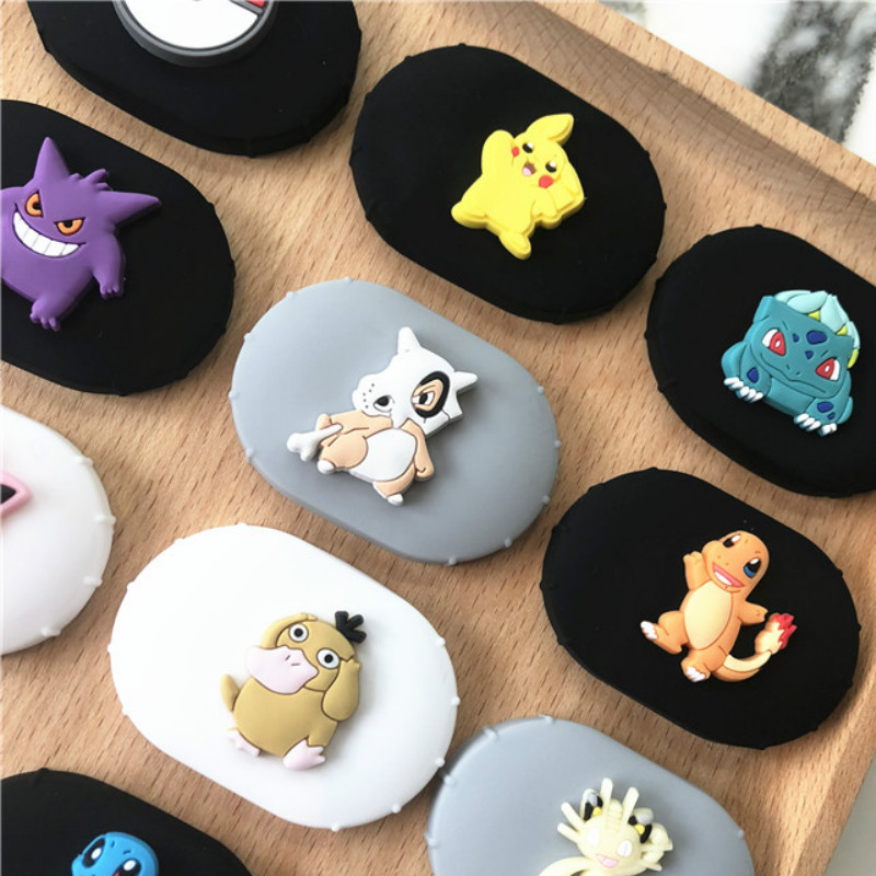 Cute Cartoon Silicone Case With Buckle For Redmi Mi AirDots Air Dots 2019 New Case Cover Wireless Bluetooth Cases Soft TPU Shell