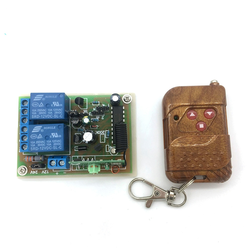 Remote Control For Electric DC Linear 10A DC12V Motor Switch Receiver