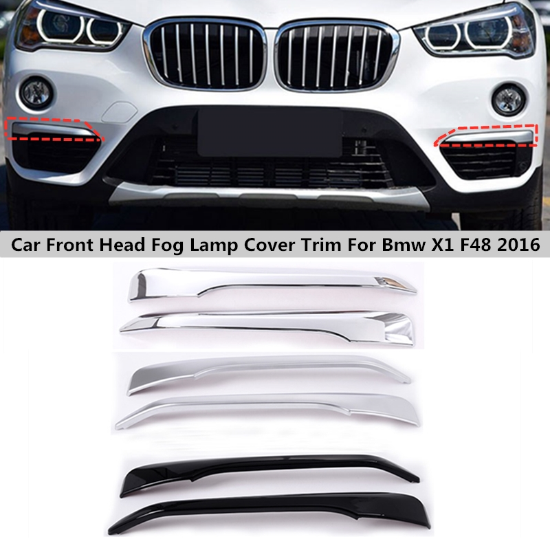 Accessories 8X Chrome ABS Style Door Hander Cover Stripe For BMW X1 F48 2016