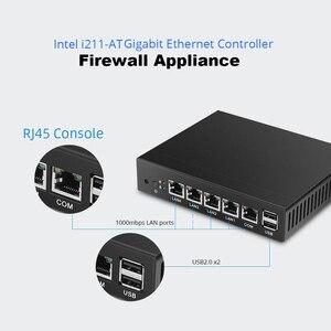 Image 3 - XCY جدار الحماية جهاز كمبيوتر صغير إنتل سيليرون J1900 J1800 4x جيجابت رواتر إنترنت إنتل i211 نيك موجه VPN Pfsense سوفوس بدون مروحة