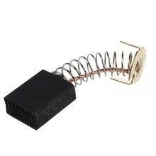 цена на 2 Pcs Electric Motor Power Tool Part Carbon Brush 6.5mm x 13.5mm x 18 mm