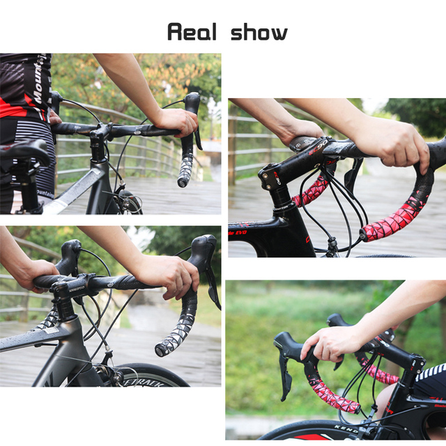 High-quality Road Bike Bicycle Handlebar Non-Slip Tape Belt Bike Handle Belt Fixed Cycling Breathable absorb sweat Accessories 1