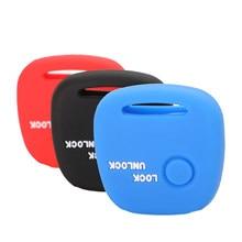 Bilchave 10 pçs 1 botões remoto caso chave do carro silicone capa fob para suzuki r moko para nissan pino para mazda chave proteger