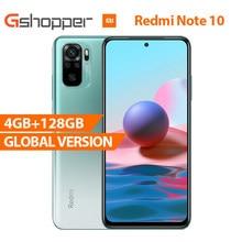 "Versión Global Xiaomi Redmi Nota 10 4G 128G Smartphone Snapdragon 678 33W de carga rápida 48MP Quad cámaras 6,43 ""AMOLED DotDisplay"