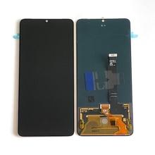 """6.55 """"الأصلي سوبور Amoled م & سين ل OnePlus 7T شاشة LCD عرض محول رقمي يعمل باللمس ل One Plus 7T 1 + 7T شاشة الكريستال السائل"""