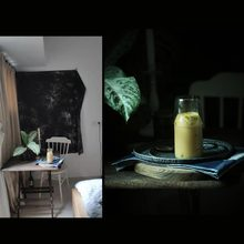 Dark Tone Foto Achtergrond Voedsel Fotografie Stage Property Tafelkleed