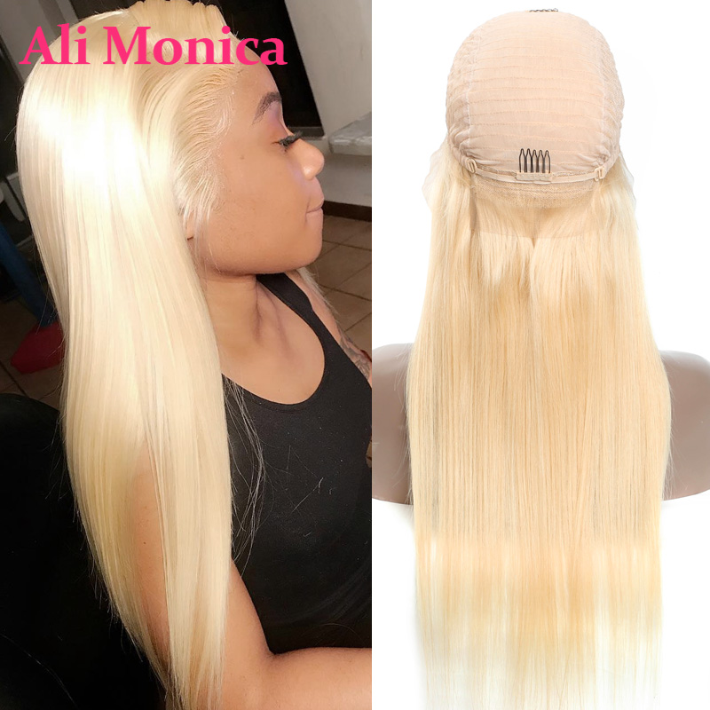 613 Lace Front Wig Human Hair Lace Frontal Wigs Blonde Wig 13x4 13x6 Lace Frontal Human Hair Wigs Preplucked Hair 150% Density