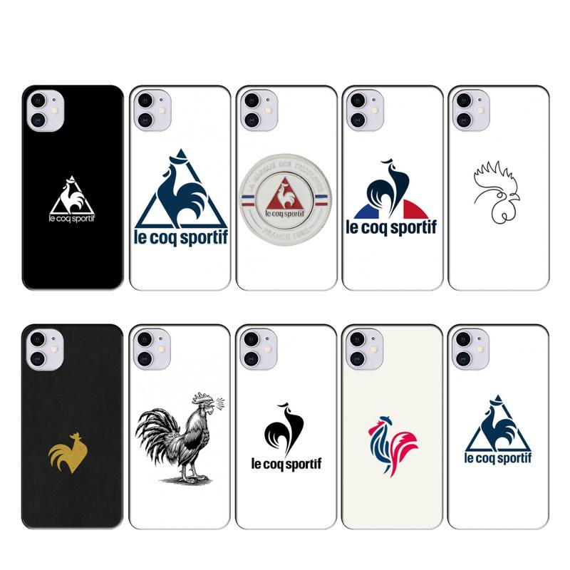 wensmt le coq sportif case coque fundas for iphone 11 PRO MAX X XS XR 4S